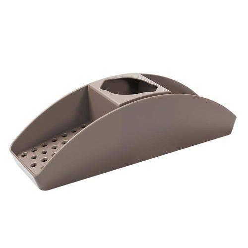 Organizador de Pia Basic 32,2 X 8,6 X 9,1 Cm Warm Gray - Coza