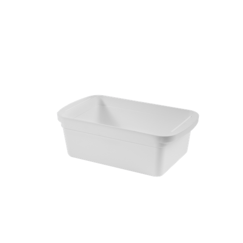 Organizador Médio Loft 36,42 X 21,61 X 13,05 Cm Branco Coza