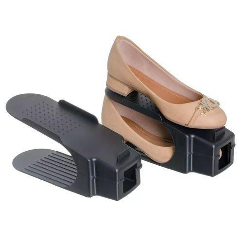 Organizador Rack Sapato 10 Unidades Preto
