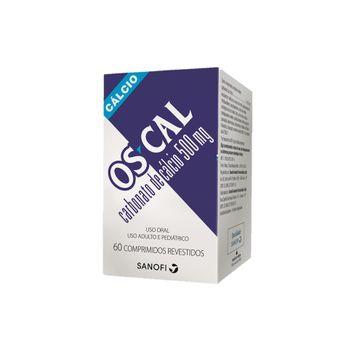 Os-Cal Sanofi Aventis 500mg 60 Comprimidos