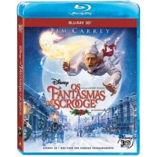 Os Fantasmas de Scrooge Edição Especial - Blu Ray 3D Filme Infantil
