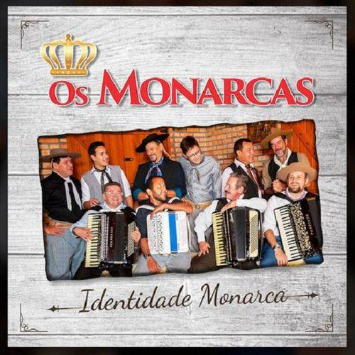 Os Monarcas Identidade Monarca - Cd Música Regional