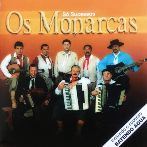 Os Monarcas só Sucessos - Cd Música Regional