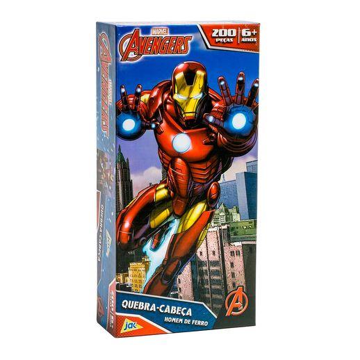 Os Vingadores Quebra Cabeça 200 Peças Homem de Ferro - Toyster