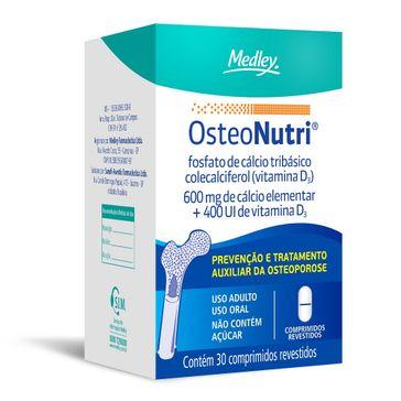 Osteonutri Medley 600mg+400Ui OSTEONUTRI 600MG+400UI 30CPR
