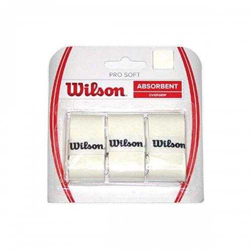 Overgrip para Raquetes de Tênis | Wilson Pro Soft Branco