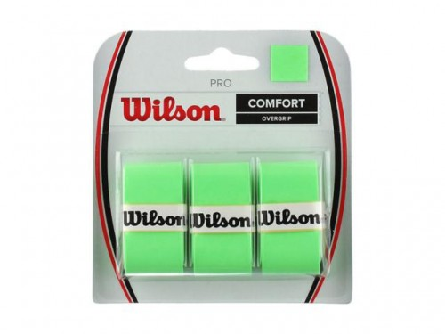 Overgrip Pro Comfort com 03 Unidades Verde - Wilson