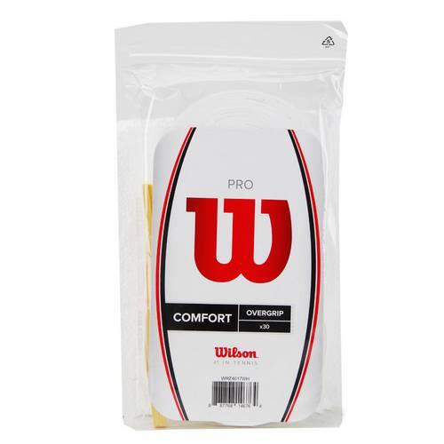 Overgrip Wilson Pro Pack com 30 Unidades Branco