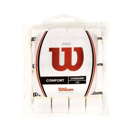 Overgrip Wilson Pro Pack com 12 Unidades Branco