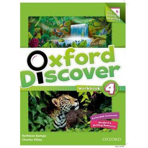 Oxford Discover 4 Wb W Online Practice