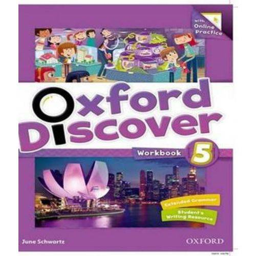 Oxford Discover 5 - Workbook With Online Practice