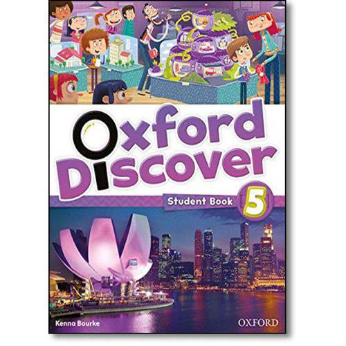 Oxford Discover: Student Book - Level 5