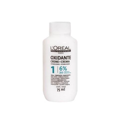 Oxidante Creme L'Oreal Professionnel 75ml 20 Volumes