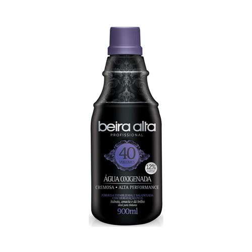 Oxigenada Beira Alta Black 40 Volumes 900ml