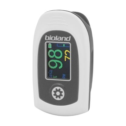 Oxímetro de Pulso Portátil Bioland Monitor de Dedo AT101C