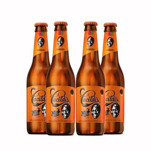 Pack 4 Cervejas Ampolis Cacildis 600ml