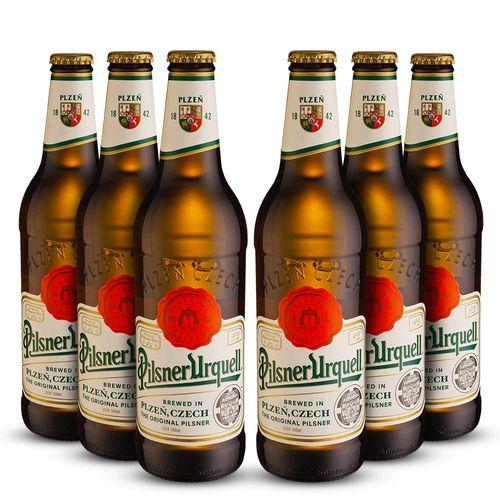 Pack 6 Cerveja Artesanal Pilsner Urquell - 500ml