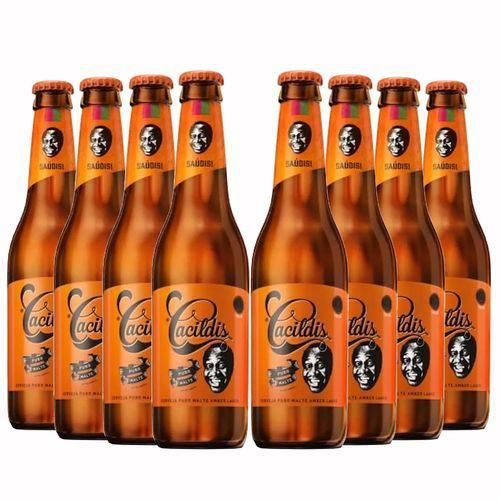 Pack 8 Cervejas Ampolis Cacildis 600ml