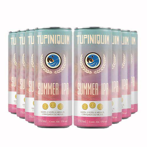 Pack 8 Tupiniquim Summer Ipa 350ml