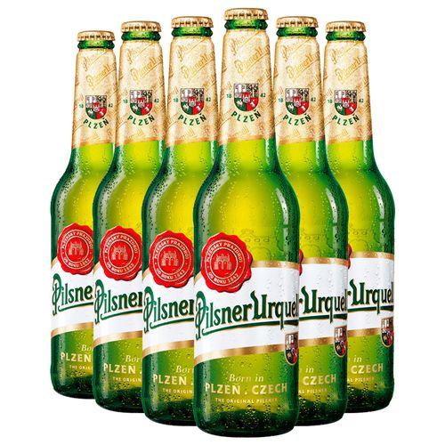 Pack Cerveja Pilsner Urquell 500ml - 6 Itens