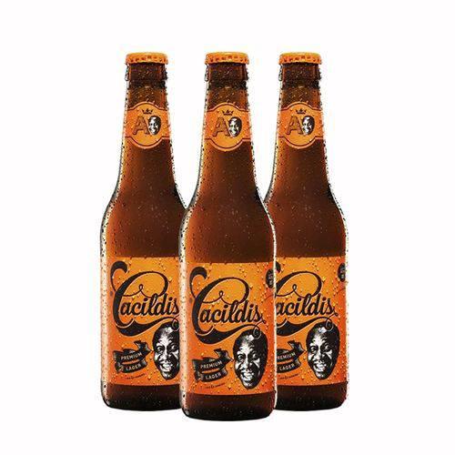 Pack 3 Cervejas Ampolis Cacildis 355ml