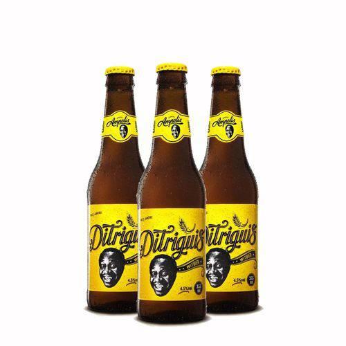 Pack 3 Cervejas Ampolis Ditriguis 355ml