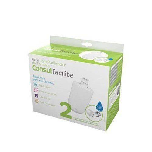 Pack com 2 Refis / Filtro para Purificador de Água de Torneira Consul - CIX05AX (Original)