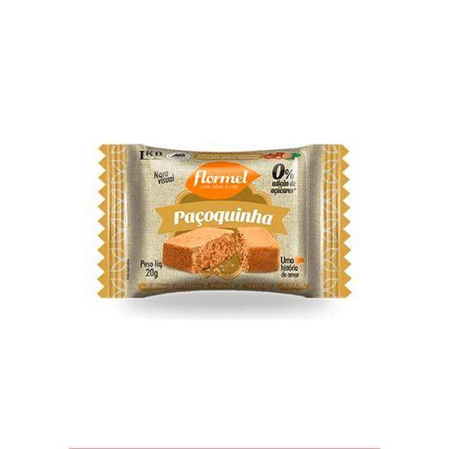 Paçoquinha Zero Açúcar 20g - Flormel