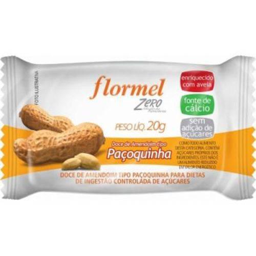 Paçoquinha Zero Açúcar Flormel
