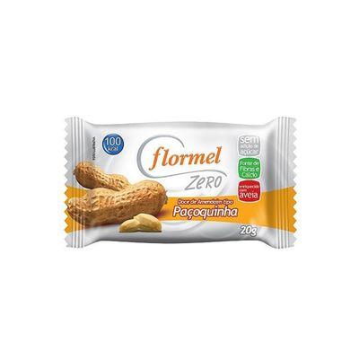Paçoquinha Zero Adição de Açúcares 20g - Flormel