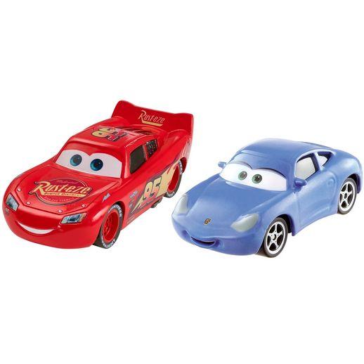 Pacote Carros Rayo e Sally - Mattel