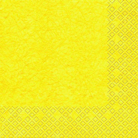 Pacote de Guardanapos Descartaveis Cores Modernas Amarelo