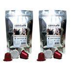 2 Pacotes com 10 Cápsulas de Café Notas de Chocolate e Caramelo para Máquina Nespresso