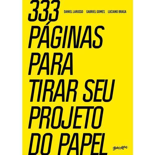 333 Páginas para Tirar Seu Projeto do Papel