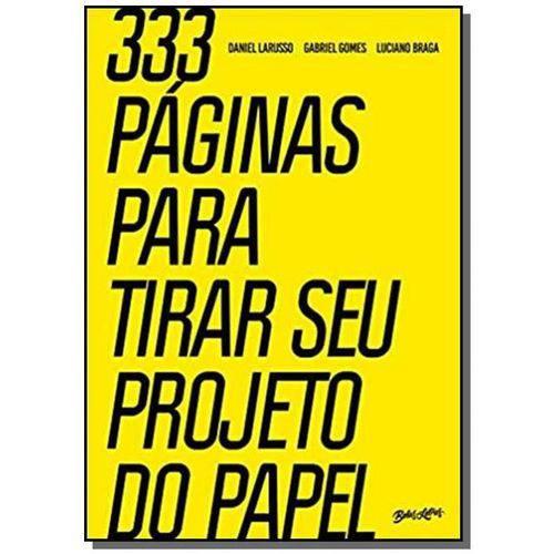 333 Paginas para Tirar Seu Projeto do Papel
