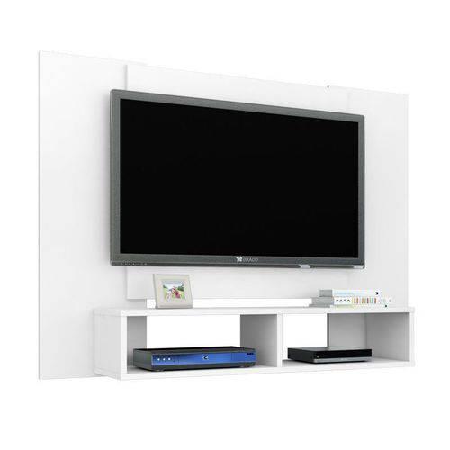 Paine para Tv Navi Branco - Móveis Bechara