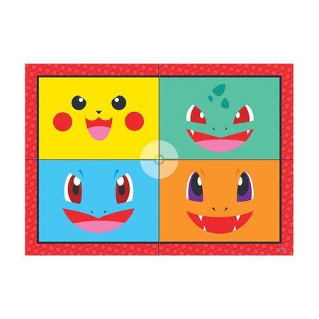 Painel 4 Lâminas Pokemon