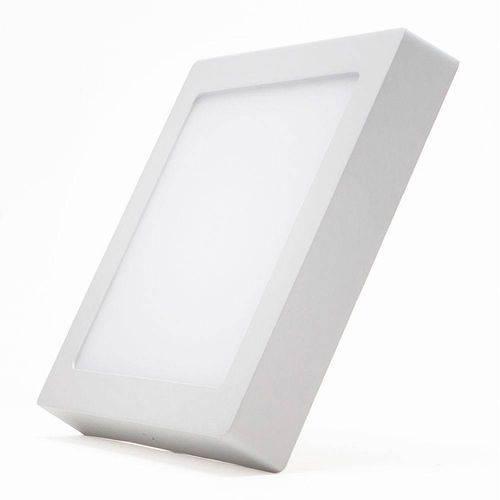 Painel 24w 25w Quadrado Sobrepor Plafon Led Branco Frio