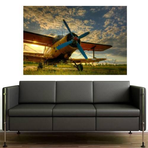 Painel Adesivo de Parede - Avião - N3151