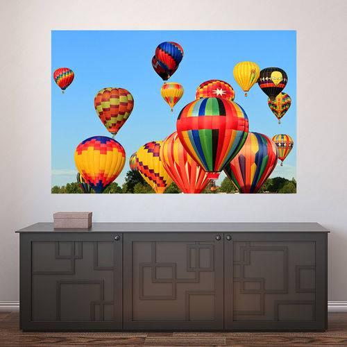 Painel Adesivo de Parede - Balonismo - N2271