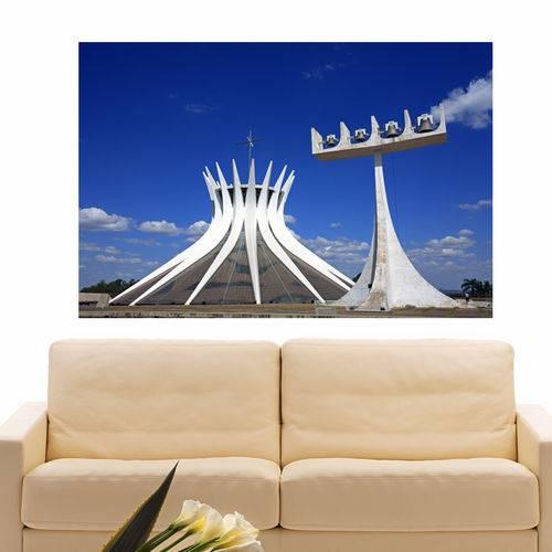Painel Adesivo de Parede - Brasília - N1144