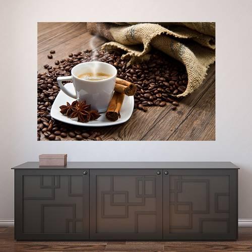 Painel Adesivo de Parede - Café - 275pn