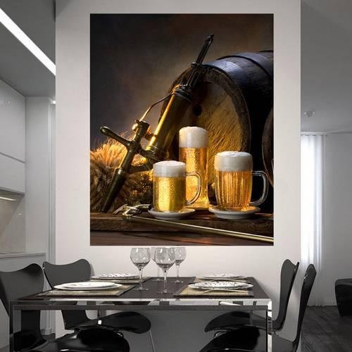 Painel Adesivo de Parede - Cerveja - 019pn