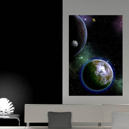 Painel Adesivo de Parede - Espaço - N1166
