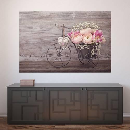 Painel Adesivo de Parede - Flores - 504pn