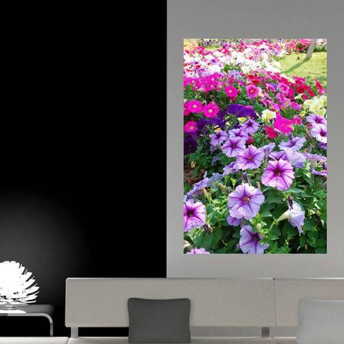 Painel Adesivo de Parede - Jardim de Flores - N1042