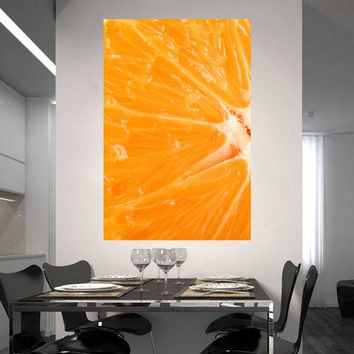 Painel Adesivo de Parede - Laranja - N2118