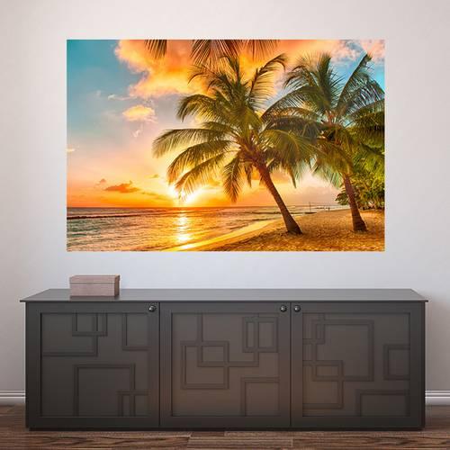 Painel Adesivo de Parede - Praia - 394pn