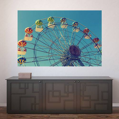 Painel Adesivo de Parede - Roda Gigante - N3269