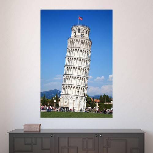 Painel Adesivo de Parede - Torre de Pisa - N2563